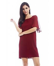 AX Paris Chiffon Sleeve Smock Dress
