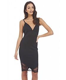 AX Paris Plunge Front Bodycon Dress