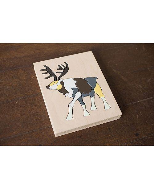 eguchi toys Wooden Animal Puzzle