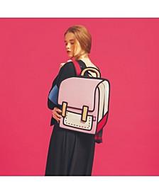 Fun and Playful 2D Shoulder Bag