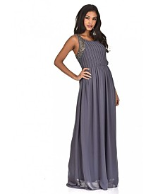 AX Paris Jewelled Detail Maxi Dress