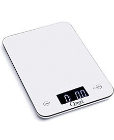 Touch Professional Digital Kitchen Scale 12 lbs Edition, in Tempered Glass