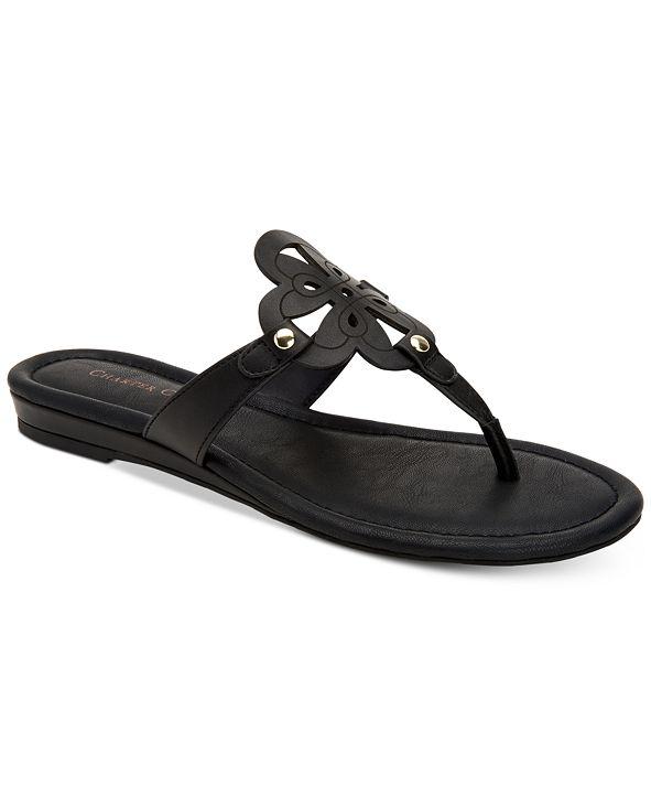 Charter Club Women's Ozella Flat Sandals, Created for Macy's