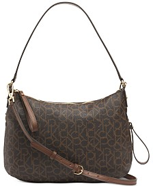 Calvin Klein Elaine Large Signature Crossbody