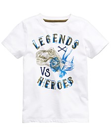 Epic Threads Toddler Boys Legends Vs. Heroes T-Shirt, Created for Macy's