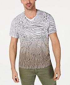 INC Men's Animal Print T-Shirt, Created for Macy's