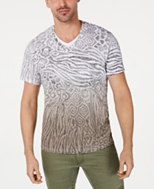 I.N.C. Men's Animal Print T-Shirt, Created for Macy's