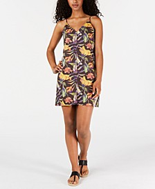 Juniors' Floral-Print Tank Dress