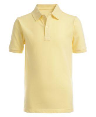 Small 4 Hunter Green Dickies Little Boys Short Sleeve Pique Polo Shirt