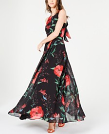 I.N.C. Keyhole Maxi Dress, Created for Macy's