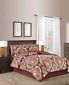 CLOSEOUT! Estelle Reversible 8-Pc. Comforter Sets