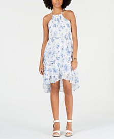 Tommy Hilfiger Ruffled High-Low Dress
