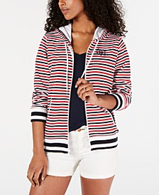 Striped Hoodie Jacket, Created for Macy's