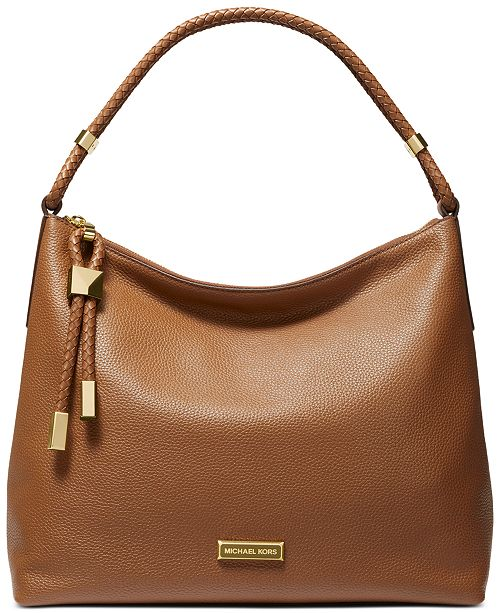 Michael Kors Lexington Leather Shoulder Bag
