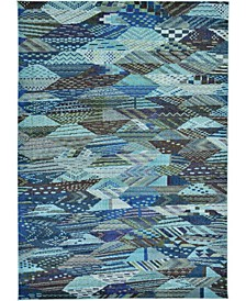 CLOSEOUT! Arcata Arc4 Blue 7' x 10' Area Rug