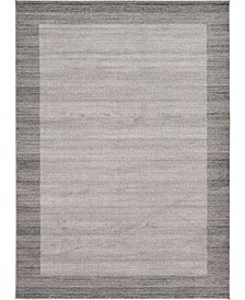 Lyon Lyo4 Light Gray 8' x 11' Area Rug