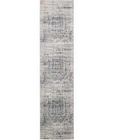 Bridgeport Home Odette Ode1 Gray 3' x 13' Runner Area Rug