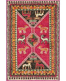 CLOSEOUT! Arcata Arc7 Pink 2' x 3' Area Rug