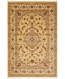 "Bridgeport Home Clayton Cly1 Beige 6' 7"" x 9' 10"" Area Rug"