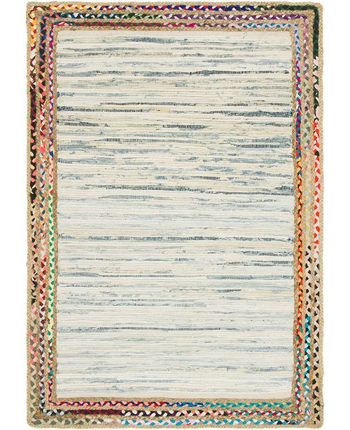 Bridgeport Home Jari Jar4 Ivory 4' x 6' Area Rug