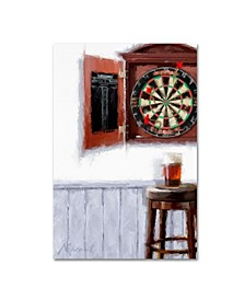 "The Macneil Studio 'Dart Board' Canvas Art - 16"" x 24"""