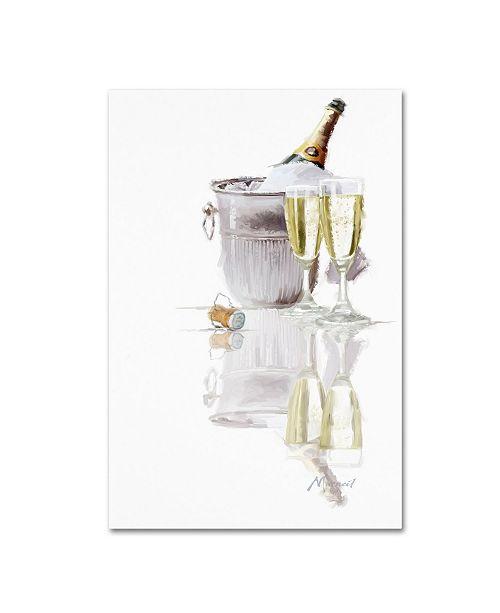 "Trademark Global The Macneil Studio 'Champagne' Canvas Art - 16"" x 24"""