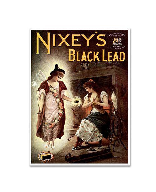 "Trademark Global Vintage Apple Collection 'Nixeys' Canvas Art - 18"" x 24"""