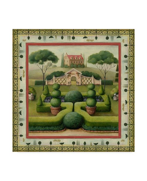 "Trademark Global Lisa Audit 'House 2' Canvas Art - 18"" x 18"""