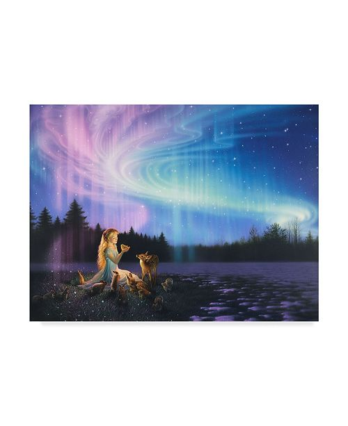"Trademark Global Kirk Reinert 'Spring Feeling' Canvas Art - 18"" x 24"""