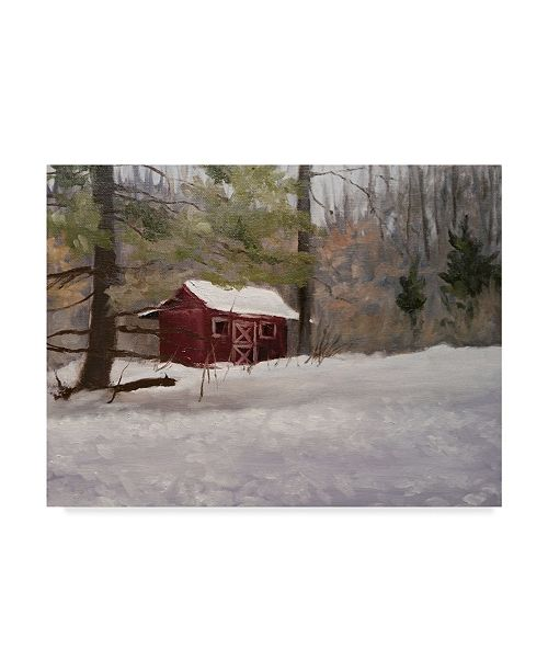 d01253e3d621 Trademark Global Rusty Frentner  Winter Shed  Canvas Art - 18