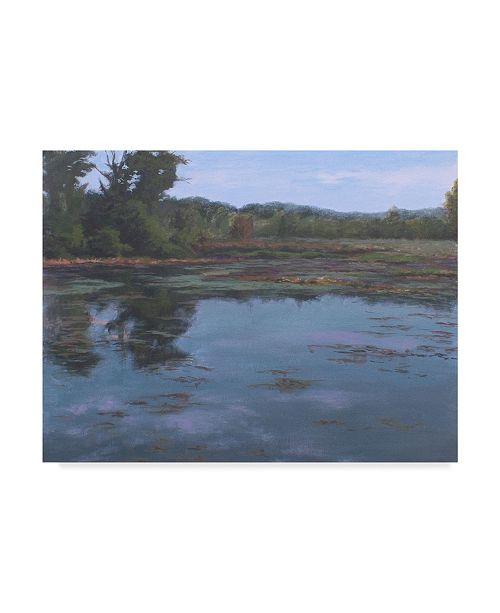 "Trademark Global Rusty Frentner 'Heron Isle' Canvas Art - 18"" x 24"""