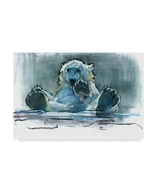 "Trademark Global Mark Adlington 'Ice Bath' Canvas Art - 16"" x 24"""