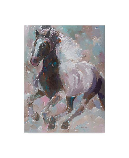 "Trademark Global Hooshang Khorasani 'Moonlight Runner' Canvas Art - 24"" x 32"""