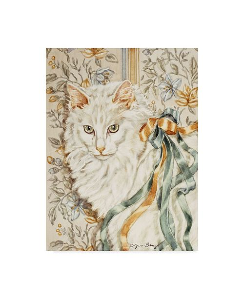 """Trademark Global Jan Benz 'Lilly Be Ribboned' Canvas Art - 18"""" x 24"""""""