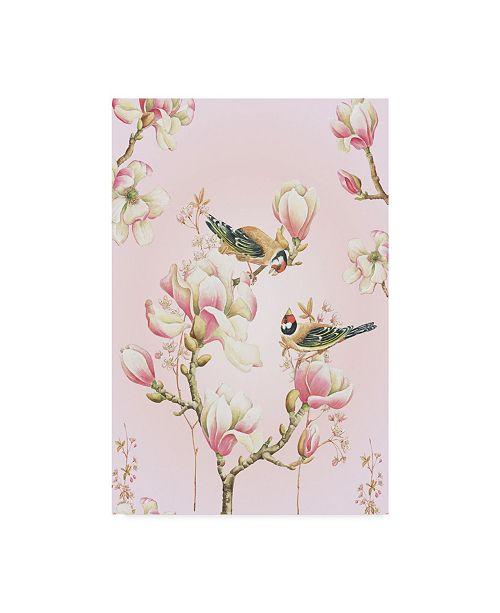 "Trademark Global Janneke Brinkman-Salentijn 'Magnolia Birds' Canvas Art - 16"" x 24"""