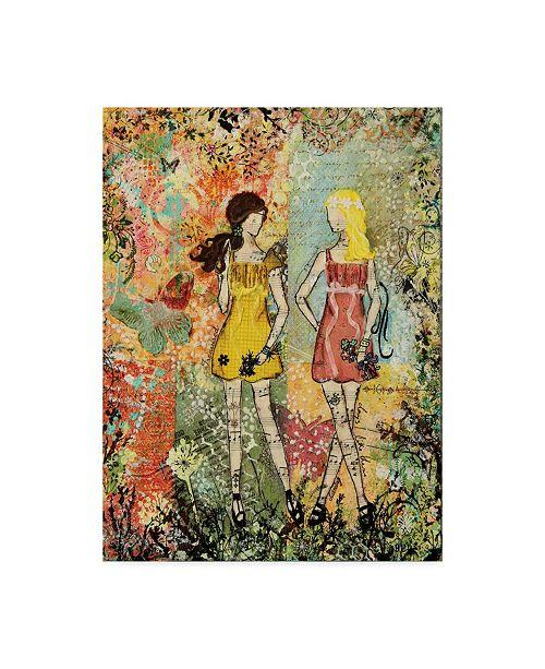 "Trademark Global Janelle Nichol 'Days Like These' Canvas Art - 14"" x 19"""