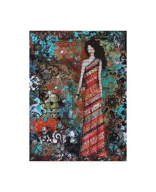 "Trademark Global Janelle Nichol 'Priceless' Canvas Art - 18"" x 24"""