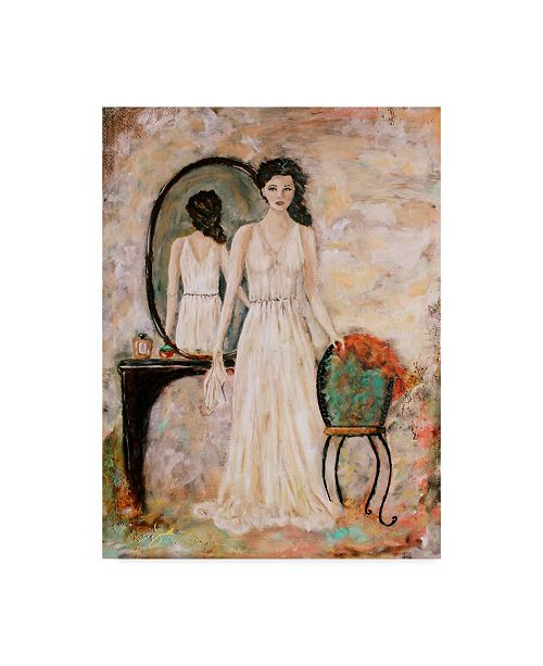 """Trademark Global Janelle Nichol 'The Woman Within' Canvas Art - 24"""" x 32"""""""