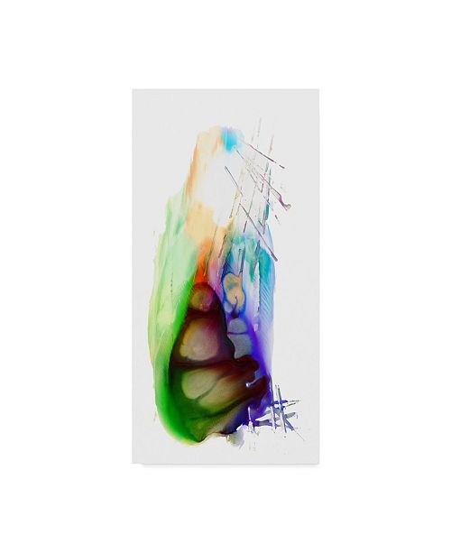 """Trademark Global Masters Fine Art 'Abstract Number 12' Canvas Art - 12"""" x 24"""""""
