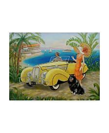 "Lee Dubin 'Great Gatsby' Canvas Art - 19"" x 14"""