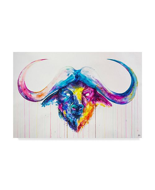 "Trademark Global Marc Allante 'Bastion' Canvas Art - 24"" x 16"""
