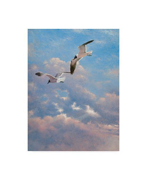 "Trademark Global Michael Jackson 'Flying High' Canvas Art - 24"" x 32"""