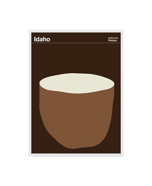 "Trademark Global Print Collection - Artist 'Idaho Patato' Canvas Art - 18"" x 24"""