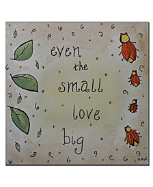 "Nicole Dietz 'Love Bug' Canvas Art - 18"" x 18"""