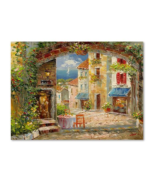 "Trademark Global Rio 'Capri Isle' Canvas Art - 19"" x 14"""