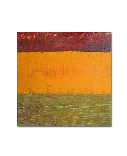 "Trademark Global Michelle Calkins 'Highway Series Grasses' Canvas Art - 18"" x 18"""