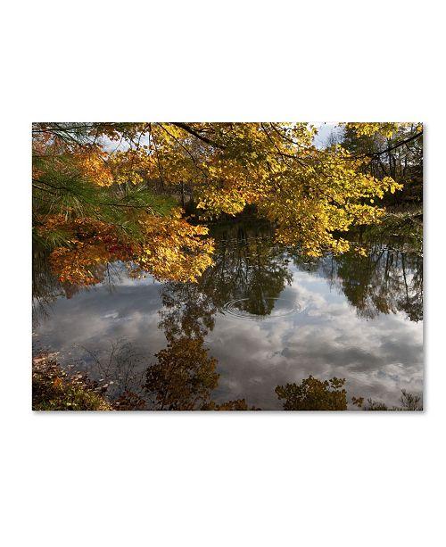 "Trademark Global Kurt Shaffer 'Kendal Lake Autumn Reflection' Canvas Art - 18"" x 24"""