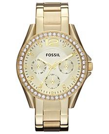 Women's Riley Gold-Tone Stainless Steel Bracelet Watch 38mm ES3203