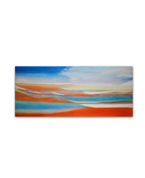 "Trademark Global Lou Gibbs 'Miracle Water' Canvas Art - 20"" x 47"""