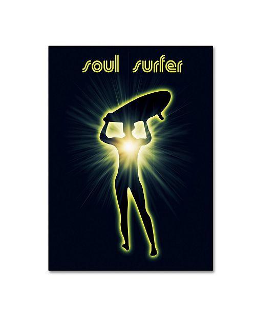 "Trademark Global Mark Ashkenazi 'Soul Surfer 2' Canvas Art - 35"" x 47"""